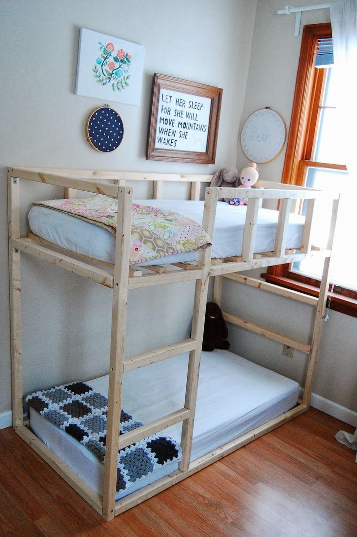 La Vie En Plum WE BUILT SOMETHING! Toddler bunk beds
