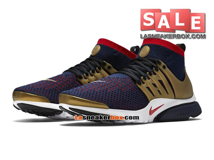 Nike Air Presto Ultra Flyknit - Chaussures de Sports Nike Pas Cher Pour Homme