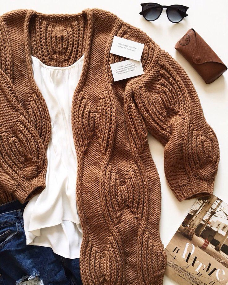Gorgeous stitch on this cardigan.
