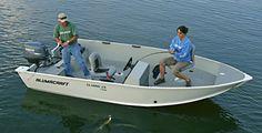 small fishing boats aluminum