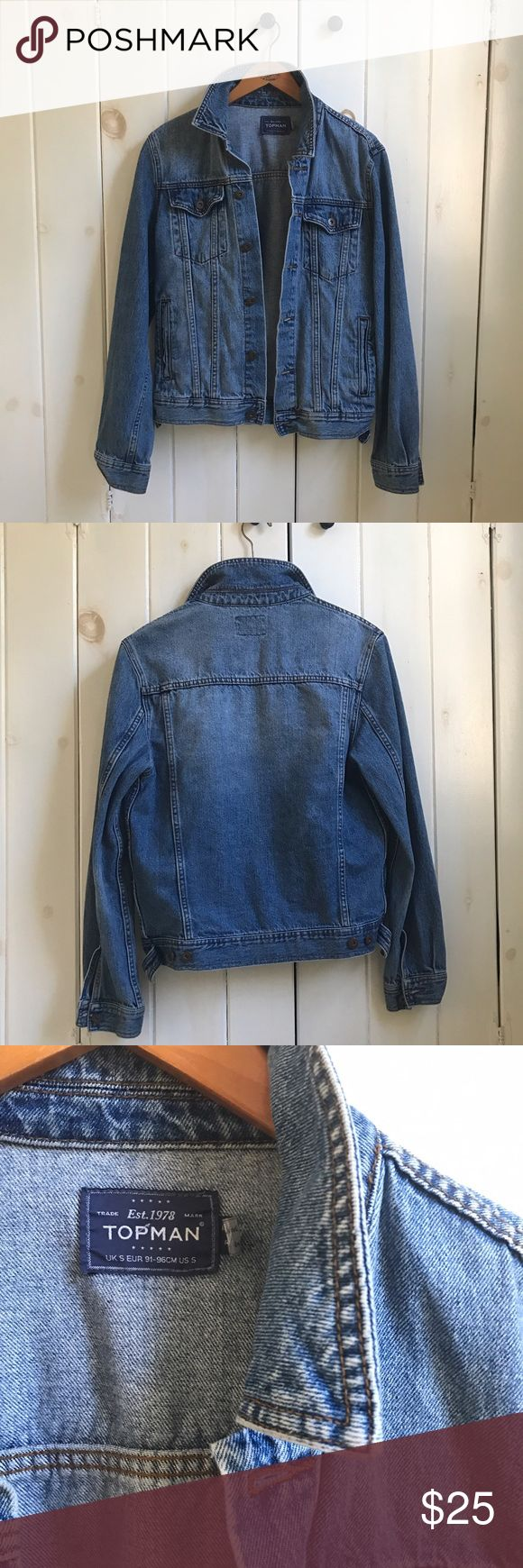 Mens gloves topman - Denim Jacket