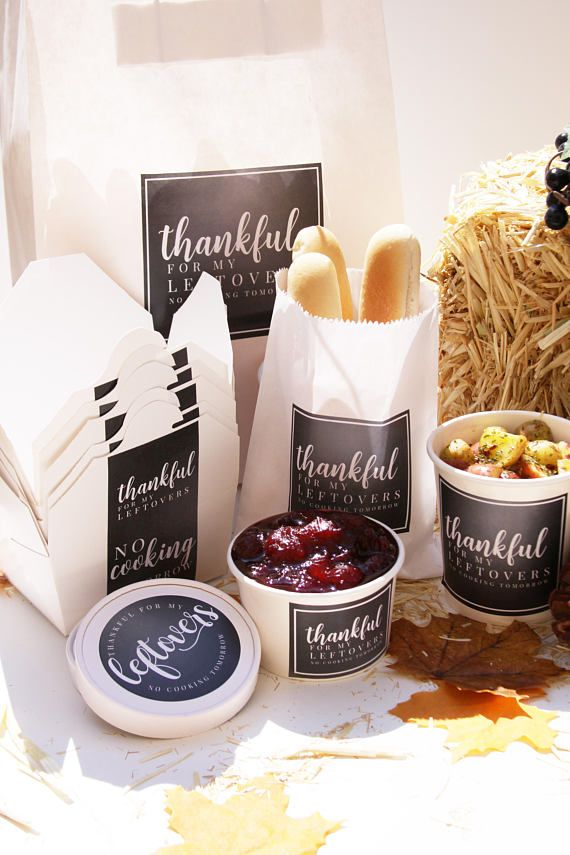 Thanksgiving Take Out Containers, Leak Proof To Go Container, Holiday Label, Thanksgiving Celebration, Christmas Celebration, Holiday Dinner