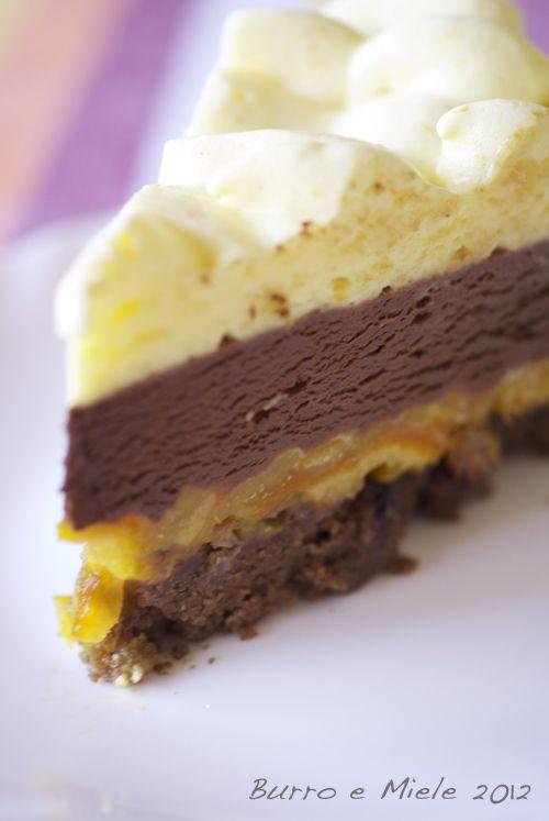 Burro e Miele: Torta di arance e cioccolato di Luca Montersino, leggermente marocchinizzata, per Iman