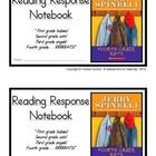 "Fourth Grade Rats, by Jerry Spinelli: Reading Response Notebook-  Here is another great resource from ""A Special Kind of Teaching"".  This is a Read..."