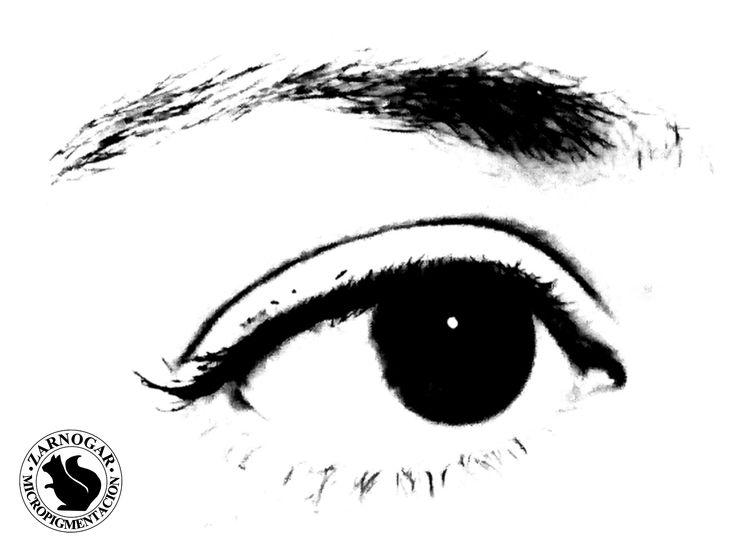 Micropigmentación de cejas en Madrid. Tratamiento pelo a pelo.