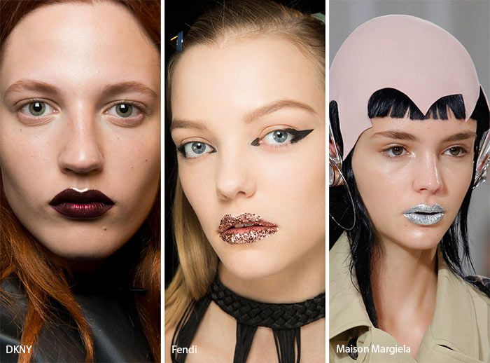 Spring/ Summer 2017 Makeup Trends: Glittering Lips