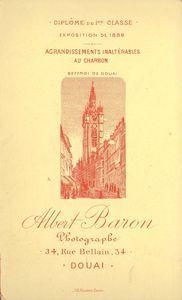 Albert Baron, Douai, France