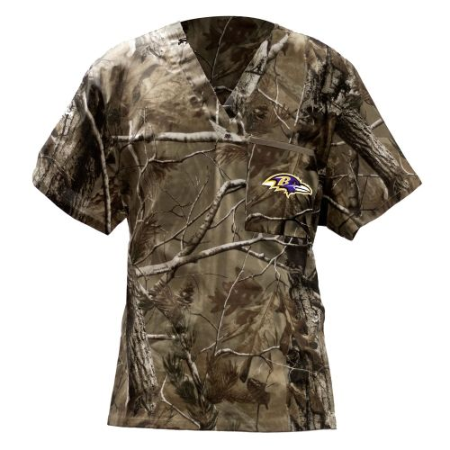 Baltimore Ravens Realtree Scrub Top Realtree Camo $25.95 ...