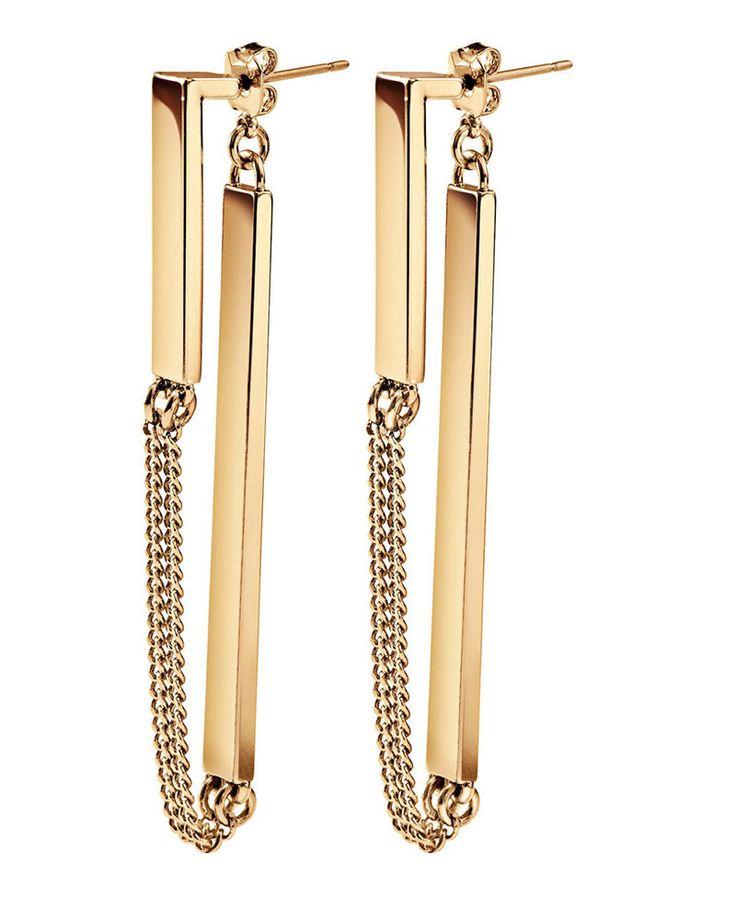 Jenny Bird | Zenith Gold Earrings