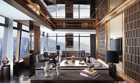 Six of the best: sky-high suites