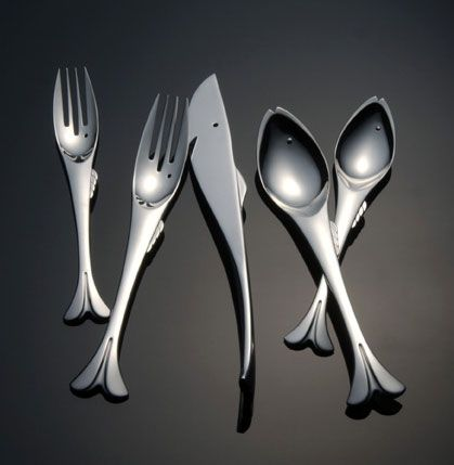 Gone Fishing Cutlery for the serious fisherman/woman in your life.