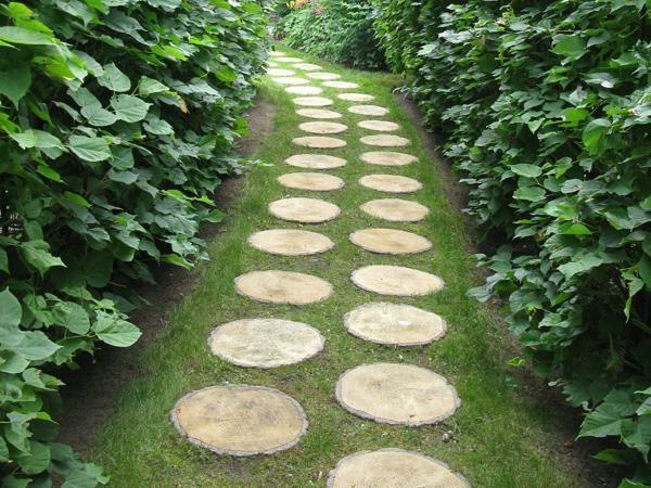 Wood Garden Design garden bench design ideas made from wood 30 Green Design Ideas For Beautiful Wooden Garden Paths