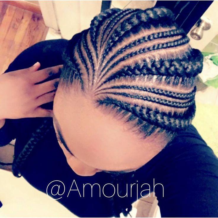 """473 Likes, 27 Comments - Amourjah (@amourjah) on Instagram: """"Client Celfie Book under 5 braids #hairstyles #brooklynbraider #amourjahstylez #feedinbraids…"""""""