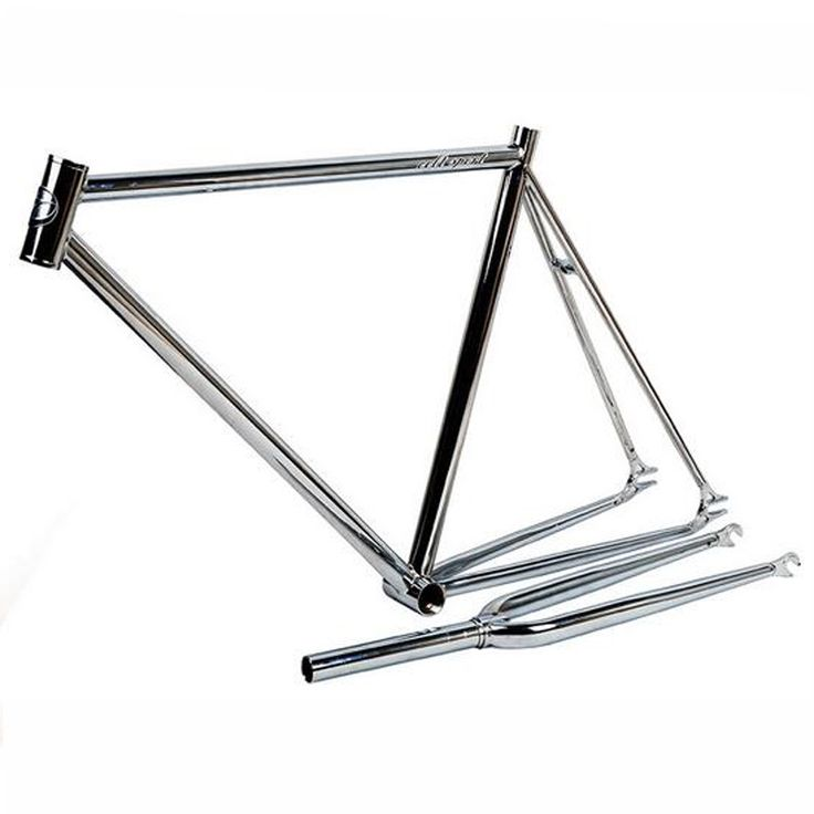 (164.00$)  Know more - http://ai8rp.worlditems.win/all/product.php?id=32799095217 - Frame Bike Accessories Chrome Molybdenum Steel Frame 53cm Road Bike Frameset Fixed Gear Bicycle Accessories With Fork