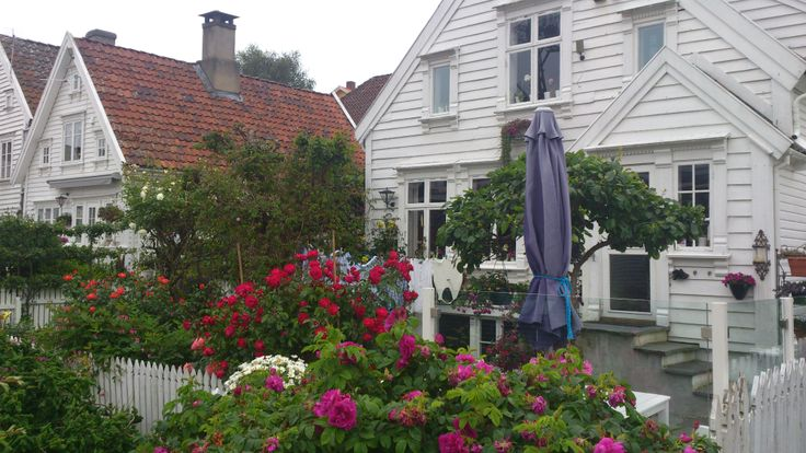 Stavanger . The old town