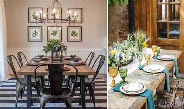 جددي طاولات الطعام في منزلك بأفكار ديكورات عصرية Dining Table Table Table Settings