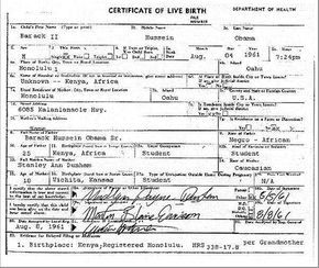 Obama's REAL BIRTH CERTIFICATE Found? (video  | Obama Birthplace Controversy
