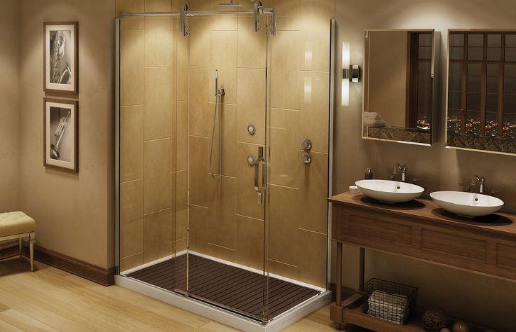 MAAX - Mechanix M2 Alcove Shower Door  www.maax.com