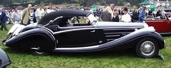 1938 Horch 853A Voll Sport Cabriolet
