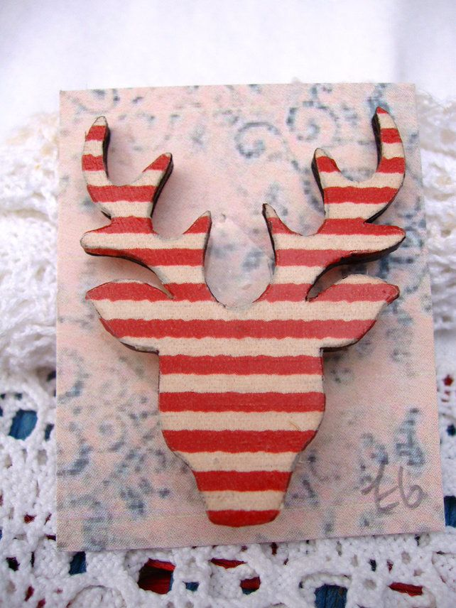 Stag Brooch £6.00