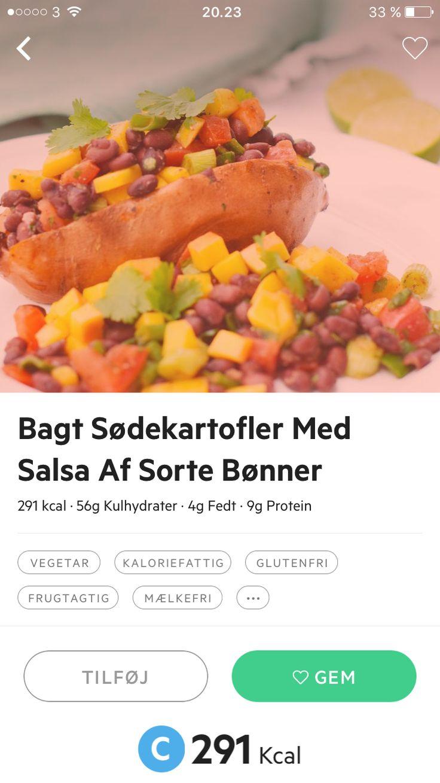 Søde kartofler med bønnesalat 1