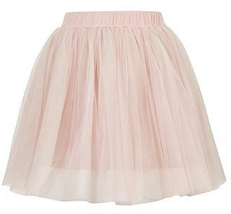 Womens blush layered tutu mini skirt by rare from Topshop - £36 at ClothingByColour.com