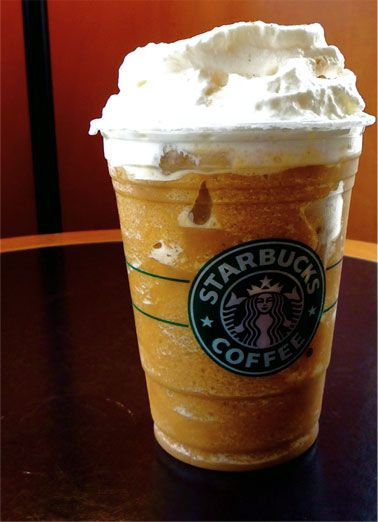 Pumpkin Pie Frappuccino - 15 New Secret Starbucks Drinks for Fall and Winter