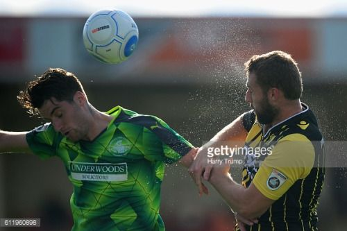 CHELTENHAM, UNITED KINGDOM - OCTOBER 02: James Potton of Hemel... #potton: CHELTENHAM, UNITED KINGDOM - OCTOBER 02: James Potton… #potton