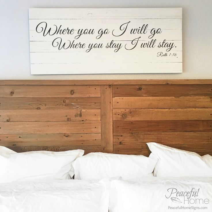 Where you go I will go  where you stay I will stay   Ruth scripture    Scripture SignsScripturesBedroom WallWood. 24 best Wooden Signs with Scripture images on Pinterest   Wooden