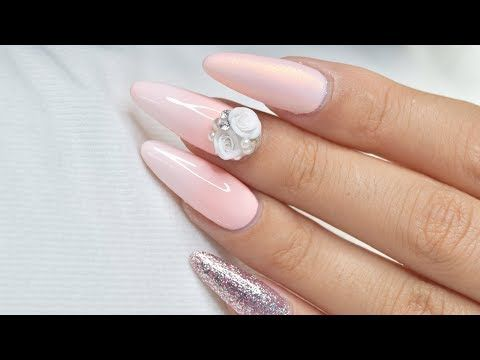 Pink Ombre with White Handmade Roses | April Ryan | Red Iguana - YouTube