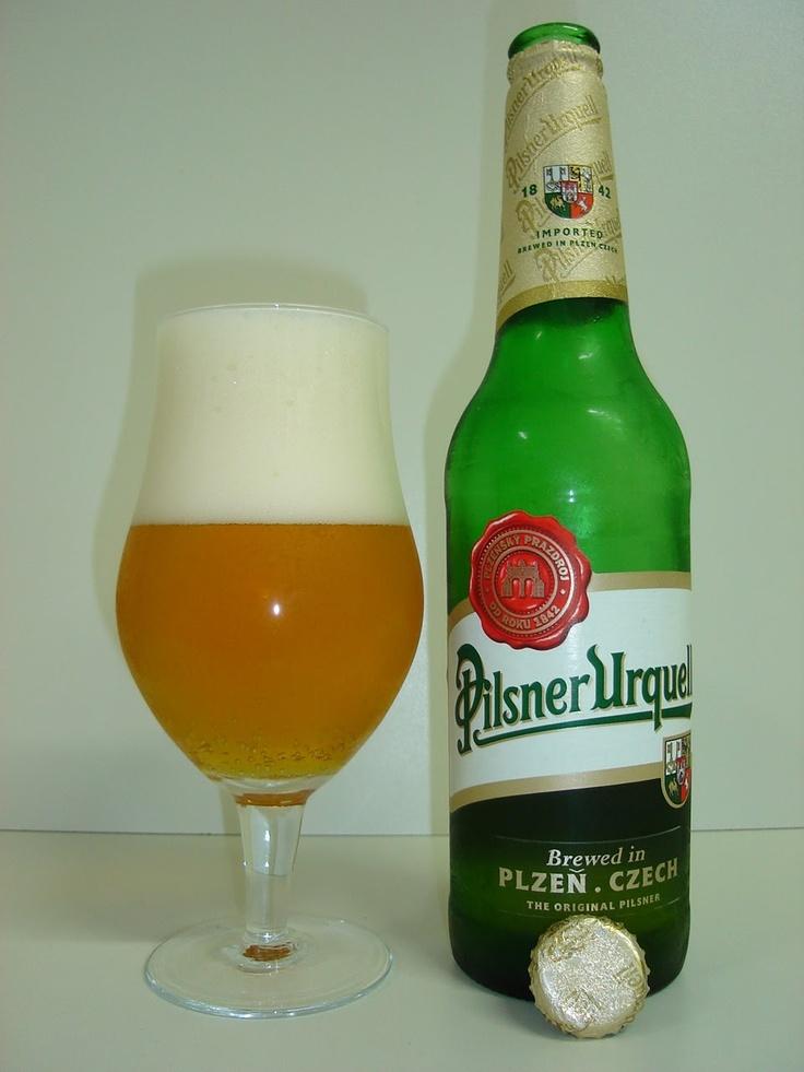 Pilsner Urquell. Czech Republic