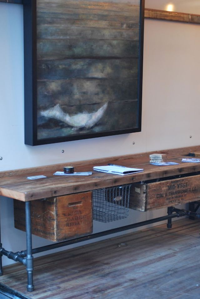 20 DIY INDUSTRIAL FURNITURE PIECES   The Winthrop Chronicles