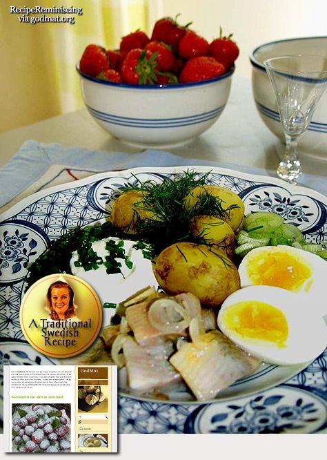 Pickled Herring and Potatoes / Sill och Potatis