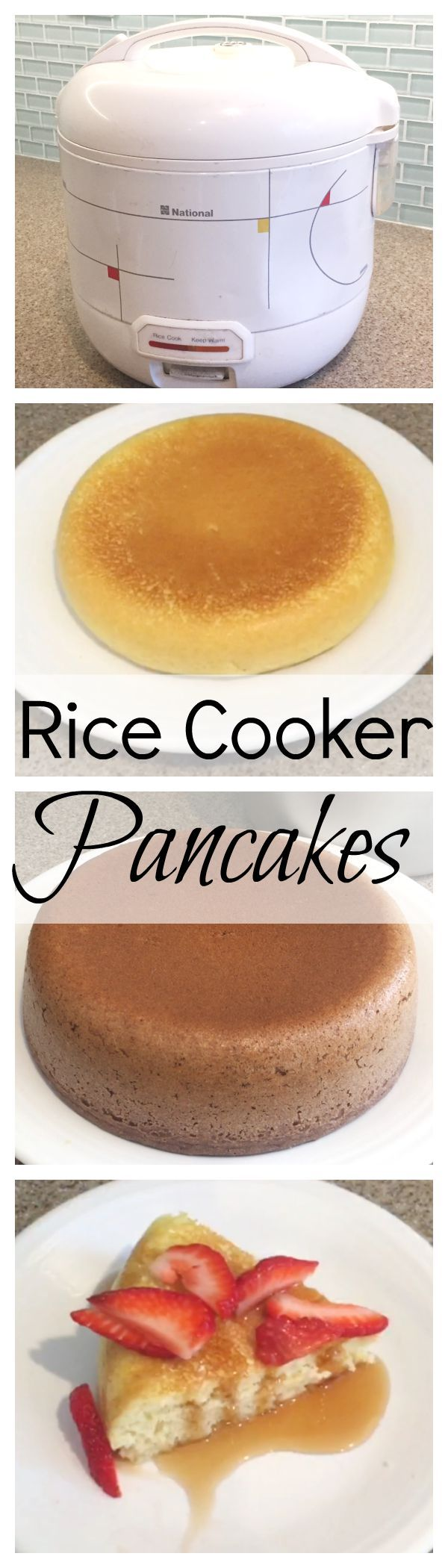 Rice Cooker Pancakes — HappySlip Not a Crockpot recipe, but it's the same concept.