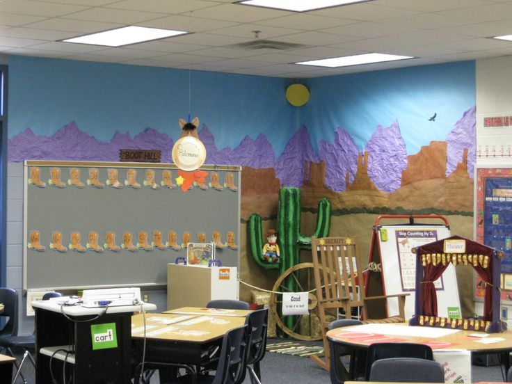 Classroom Western Theme adapt for Gold Rush