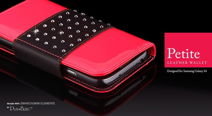 Petite Leather Wallet for Samsung Galaxy S4 @ more-thing.com   #GalaxyS4cases