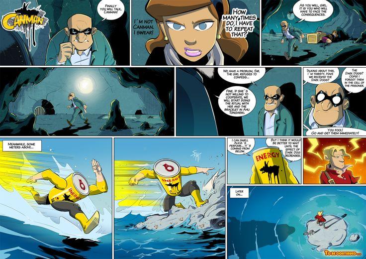 Season2 - Issue16 #canman #webcomic by #DARKDOG