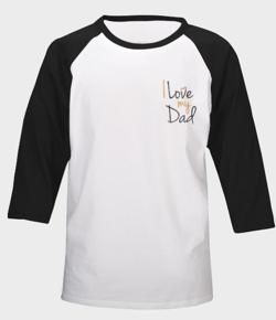 I Love My Dad Black