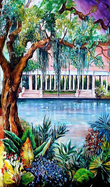 New Orleans City Park, via Flickr.