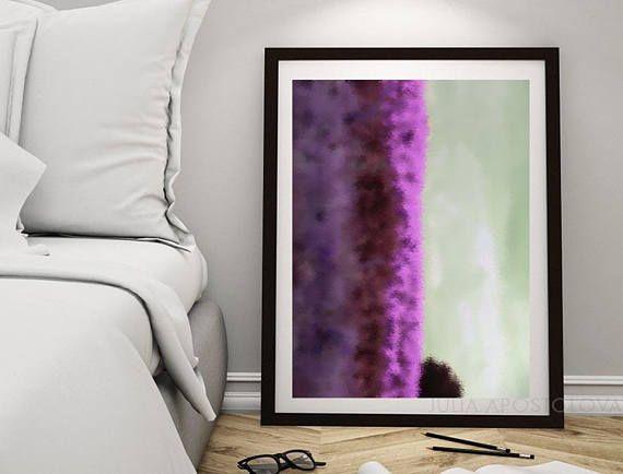 #Purple #Abstract #Art #Downloadable #Print, #printable #Minimalist #minimalArt, #MinimalWallArt #Modern #HomeDecor #WallDecoration, #PrintableAbstract #Painting