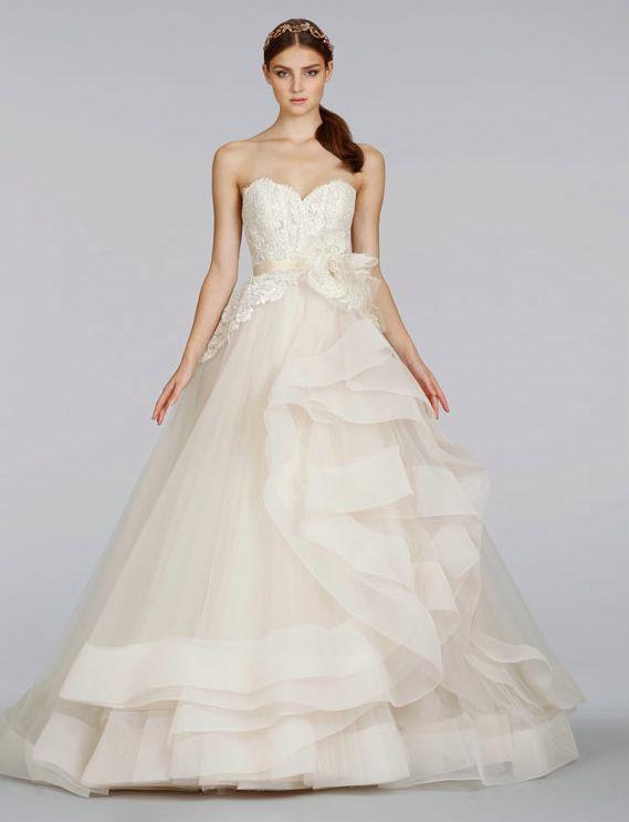 Lazaro Wedding Dresses Spring 2014 Collection