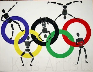 the olympics are happening this year, this would be a good project for the upper elementary
