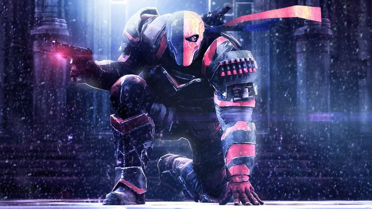 Download Batman Arkham Origins Deathstroke wallpaper for any of your devices from our Games collection. Let this 4K HD wallpaper inspire you!