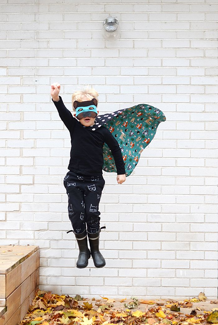 DIY Woodland Superhero Costume