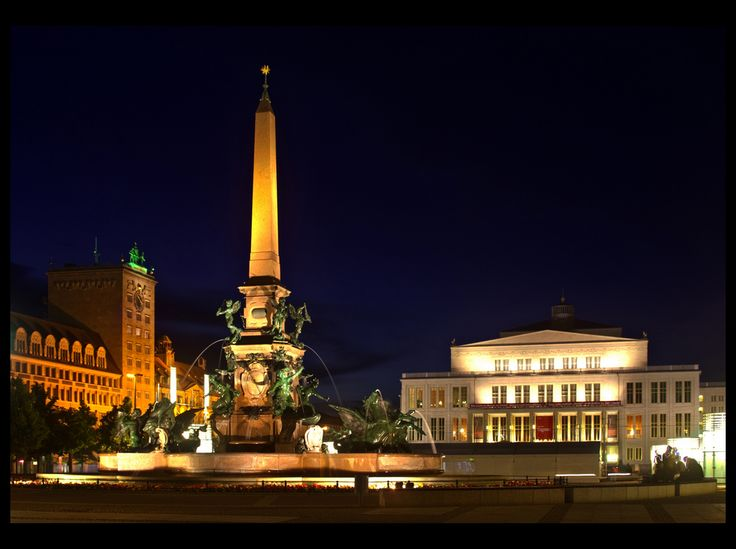 Augustusplatz, Leipzig - Germany So happy I could call this home for a month