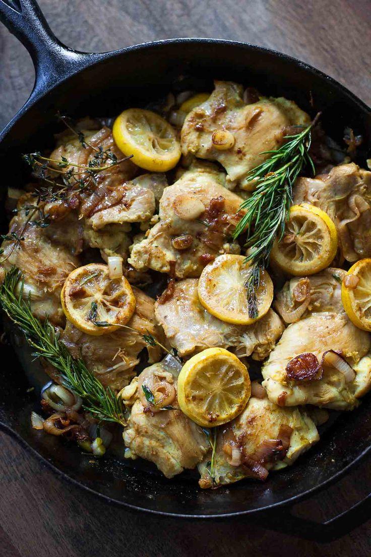 Lebanese Lemon Chicken #30MinuteMondays | acalculatedwhisk.com