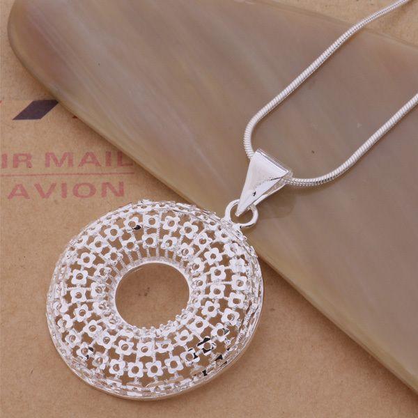 Ювелирных украшений оптовая продажа прямая поставка мода круг вокруг полые цепи ожерелья