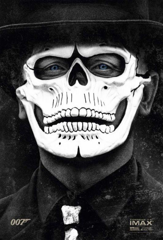 """007 Spectre : Daniel Craig en """"mort vivant"""" sur le nouveau poster"""