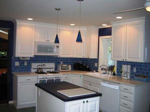 Kitchen Backsplash Blue 19 best kitchen backsplash images on pinterest | backsplash ideas