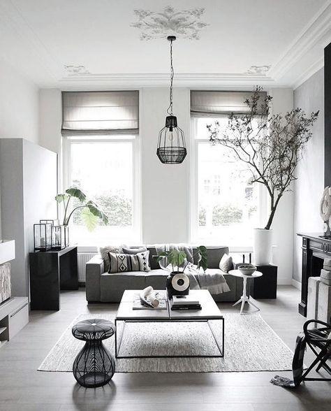 Grau Und Weiß, Wohn Esszimmer, Altbauten, Wohnungseinrichtung, Wohnzimmer  Ideen, Ausbau, Ich Liebe Dich, Deko Weihnachten, Skandinavisch Amazing Design